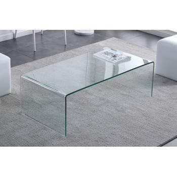 MESA CENTRO CRISTAL GLASS